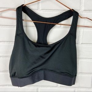 Victoria Sport black sports bra mesh detail large